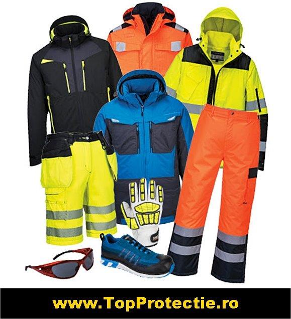 salopete de lucru, echipamente de protectie, incaltaminte ...